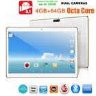 10.1'' HD Dual SIM/ Camera 4GB 64GB WIFI+3G Smartphone Android 5.1 Tablet Laptop