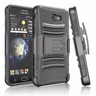 Samsung Galaxy J7 Sky Pro/J7  2017 Carrying Phone Cover + Belt Clip Holster Case