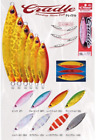 Shout Cradle Shinning Slow Fall Jig Casting Lure Jigging Fishing 185CD 80 gr