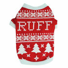 Big Dog Apparel Pet Clothes Clothin Winter Puppy Warm Coat Christmas Knitted