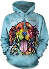 Dog Is Love Adult Animal Hoodie The Mountain