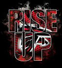 RISE UP- Atlanta Falcons Hoodie or T-shirt designed and printed in-house USA