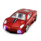 HOT Cordless 2.4Ghz Wireless Optical Car Mouse Laptop PC LED Mice +USB Receiver