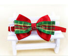 Cute Christmas Pet Dog Cat Bowknot Bow Ties Adjustable Tie Collar for Xmas Decor