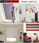 **FABRIC SAMPLES** - FOR VERTICAL BLINDS & SLATS, ROMAN AND ROLLER BLINDS