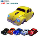 VW Classic Beetle Car 2.4GHz Wireless Optical Mouse Computer Mice + USB Receiver