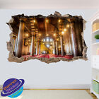 Mosque Interior Wall Stickers Islamic Art Decal Murals Room Office Decor Vo4