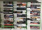 XBOX 360 VIDEO GAME LOT/PICK WHAT YOU WANT/TESTED/FREE SHIPPING