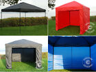 Pop up Gazebo 3m x 3m Garden Canopy Folding Easy up Tent Marquee Market stall