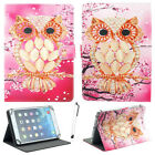 "US For Samsung Galaxy Tab A6/E/S/3/4 7"" 8"" Tablets Universal Leather Case Cover"