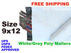 400 pcs 9x12 Poly Mailers Shipping Envelopes Security Self Sealing Mailing Bags