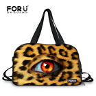 Eyes Design Women Canvas Tote Duffle Gym Sport Bag Workout Travel bags Mummy Bag