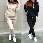 Plus Size Womens Winter Hoodie Sweatshirt Jogger Lounge Wear Sport Tracksuit