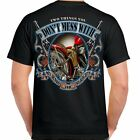 T Shirt short sleeve My Rights gun Skull Motorcycle Biker Rocker image