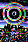 BACKDROP UV Black Light Fluorescent Glow Psychedelic Art Banner Goa Trance Deco