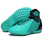Men Youth TF Turf Soccer Futsal Shoes Ankle Top Training Football Soccer Cleats