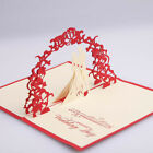 3D Pop Up Cards Valentine Lover Happy Birthday Anniversary Greeting Cards Health