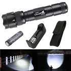 T6 LED Flashlight Rechargeable Outdoor 5 Modes torch 18650 Battery&Charger up