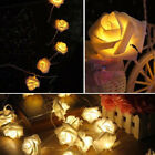 Fairy Wedding Party Christmas Decoration Garland 10 LED Rose Flower String Light