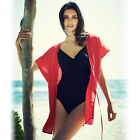 Avon Red Beach Cover Up ~ Robe, Kaftan, Kimono