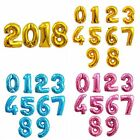 "Внешний вид - 32"" Giant Foil Balloon Colorful Number Helium Balloons Birthday Party Ballons"