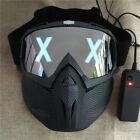 Watch Dogs Mask Marcus Wrench LED Light Rivet Face Masks Cosplay Party Dj Prop