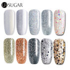 Bling Collection Glitter UV LED Soak Off Gel Nail Polish Rose Gold Silver 7.5ML