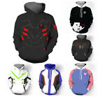 Overwatch OW Genji Reaper 76 DVA Sweatshirt Hoodies Hooded Cosplay Costume