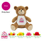 Personalised Name Mothers Day 2019 Philip Teddy Bear Presents Gifts for Mum Nan