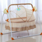 Electric Baby Crib Cradle Auto Rocking Chair Newborns Bassinets Baby Sleep Bed