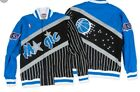 Authentic NBA Mitchell & Ness Orlando Magic Pinstripe Vintage warm-up Jacket on eBay