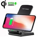 For Apple iphone X 8 7 6 With the addition of Qi Wireless Fast Charger Charging Stand Dock Pad