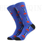 NEW Mens Cotton Socks Animal Alien Bear Chili Moustache Novelty Funny Sock 8-13