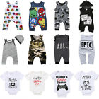 super heroes babys - Newborn Infant Kid Baby Boy Girl Romper Bodysuit Jumpsuit Clothes Outfits US