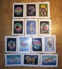 ALL BIRTH SIGNS ZODIAC Hand made crafted BATIK ART cards wax resist Astrology