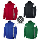 Nike Track Sideline Academy Mens Jacket Coat Mens Zip Rain Wind Top Size Stopper