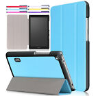 "For 7"" Huawei MediaPad T3 7.0 WiFi/BG2-W09 Flip Leather Stand Folding Case Cover"