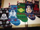 New ! Star Wars Christmas Stocking  Darth Vader R2-D2 Yoda BB-8 Praetorian Guard $12.95 USD on eBay
