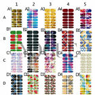 3D Water Transfer Nail Wraps Stickers Decals Polish Stickers Tips Decoration