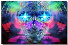 Poster Psychedelic Trippy Colorful Ttrippy Surreal Abstract Digital Art Print 6
