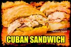 DECAL (Choose Your Size) Cuban Sandwich Food Truck Sticker Restaurant Concession