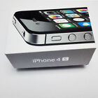 EMPTY BOX ONLY RETAIL PACKING PACKAGING NO ACCESSORIES FOR APPLE IPHONE 4S 4 S