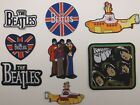 The BEATLES Embroidered Patch Patches~Many Versions~Quality~Iron on Sew~Collect