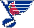 St. Louis Blues/Cardinals Decal Sticker Car Truck Window Bumper Laptop Wall $8.99 USD on eBay