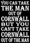 Personalised YOU CAN TAKE THE GIRL / BOY / MAN / WOMAN OUT OF CORNWALL fun SIGN