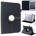 """US For Amazon Kindle Fire 7"""" 8"""" 10.1"""" 2017 -2015 Universal Leather Case Cover WQ"""