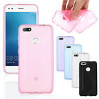 For Huawei P9 Lite Mini 2017 Protect Slim Silicone Rubber TPU Cover Case