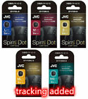 JVC Spiral dot(EP-FX9ML-B)-S MS M ML L- black  6 pieces for exchange From Japan