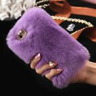 Fur Cute Fluffy Faux FUR Shockproof Cover Case For Samsung Galaxy S8 S8+ S7 Edge <br/> All Samsung Models✅ Premium Quality✅ 99% Feedback✅