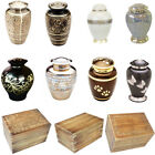 LARGE URN FOR ASHES CREMAINS FULL SIZE ADULT OR PET OPTIONS CREMATION MEMORIAL